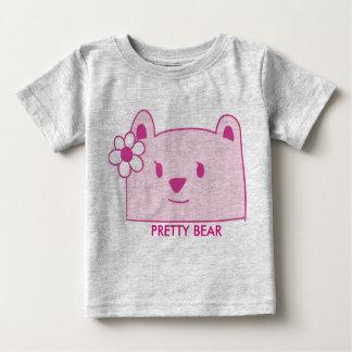 Oso bonito para el chica de los niños - oso bonito camiseta de bebé