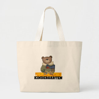 Oso con las camisetas y los regalos de la guarderí bolsas de mano