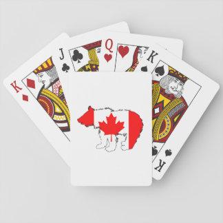 Oso Cub de Canadá Barajas De Cartas