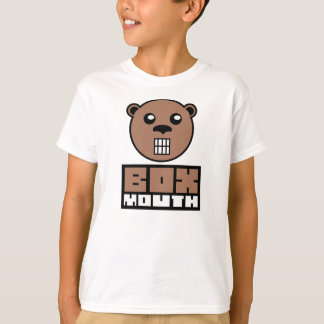 Oso de Boxmouth Brown Camiseta
