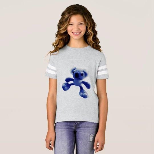 Oso de koala de los azules cielos camiseta