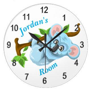 Oso de koala lindo del reloj de los niños