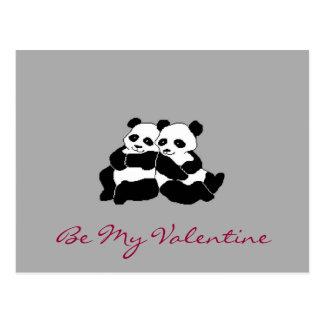 Oso de la tarjeta del día de San Valentín Postal