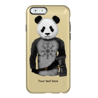 Oso de panda con el martillo del Thor Funda Para iPhone 6 Plus Incipio Feather Shine