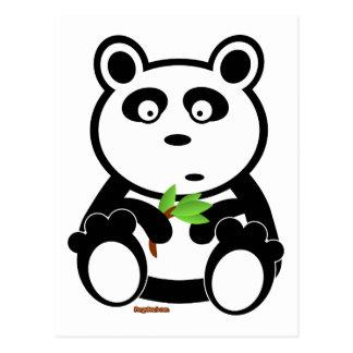 Oso de panda de Bubba Postal