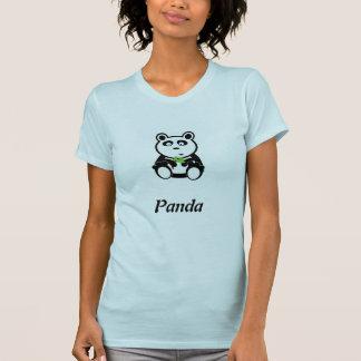 Oso de panda del amor camisetas