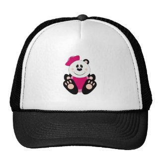 Oso de panda del marinero de la niña de Cutelyn Gorra