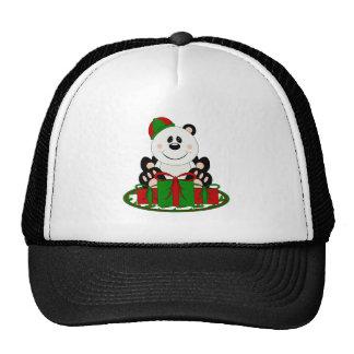 Oso de panda del regalo de Navidad de Cutelyn Gorras