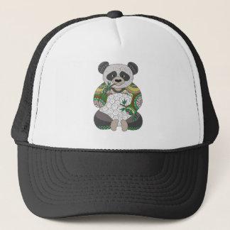 Oso de panda gorra de camionero