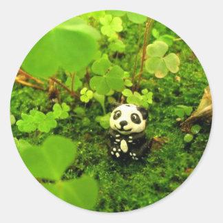 Oso de panda pegatinas