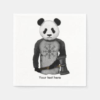 Oso de panda Viking Servilletas Desechables