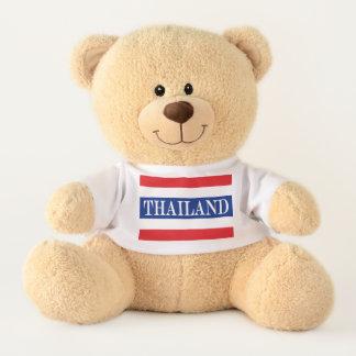Oso De Peluche Bandera de Tailandia