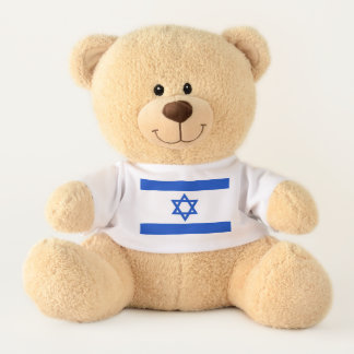 Oso De Peluche Bandera del estado de Israel