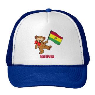 Oso de peluche de Bolivia Gorras