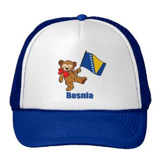Oso de peluche de Bosnia Gorros Bordados
