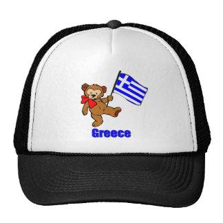 Oso de peluche de Grecia Gorro De Camionero