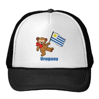Oso de peluche de Uruguay Gorras