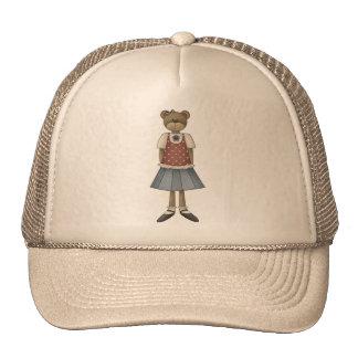 Oso de peluche del chica gorra