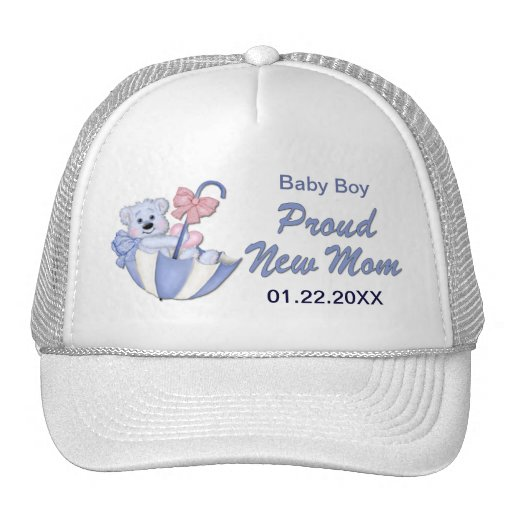 Oso de peluche del paraguas - nueva mamá del mucha gorras