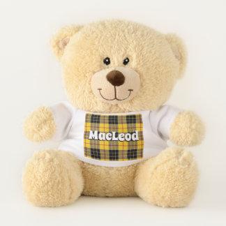 Oso De Peluche El escocés abraza al clan MacLeod de la tela