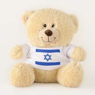 Oso De Peluche La bandera de Israel - Mogen Dovid (estrella de