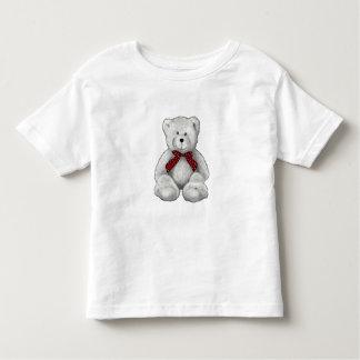Oso de peluche lindo, dibujo de lápiz, lunares camiseta de bebé