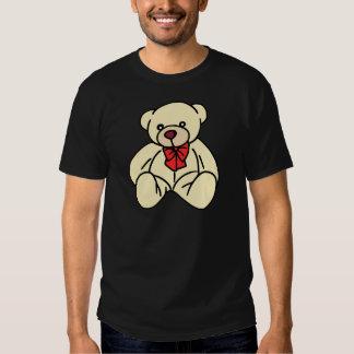 Oso de peluche lindo en moreno suave camisetas