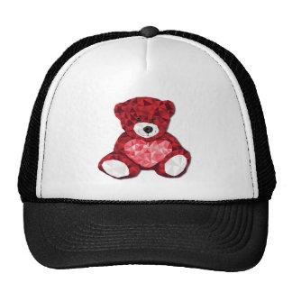 Oso de peluche lindo gorras de camionero