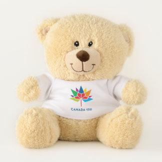 Oso De Peluche Logotipo del funcionario de Canadá 150 -