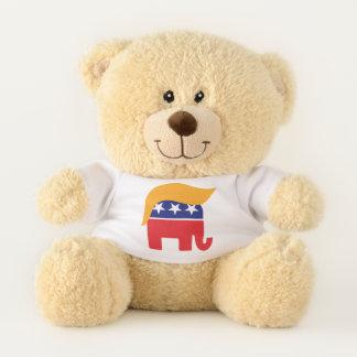 Oso De Peluche Pelo del elefante del GOP de presidente Donald