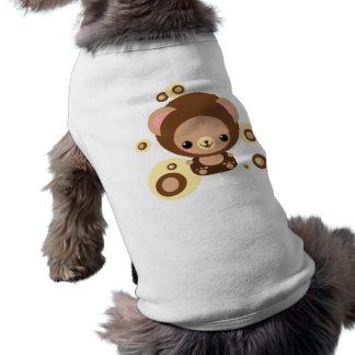 oso del brownie camiseta sin mangas para perro