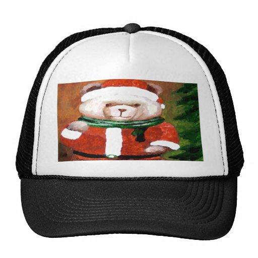 Oso del día de fiesta de la diversión del navidad  gorra