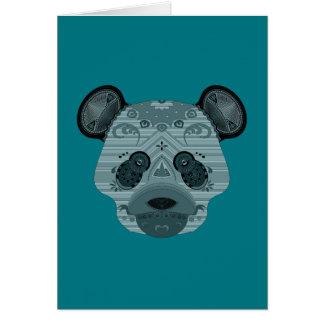 oso del geo tarjeta de felicitación