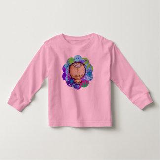 Oso del hippy camiseta de bebé
