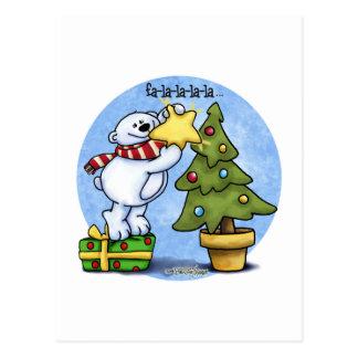 Oso del navidad de Falala Beary Postal