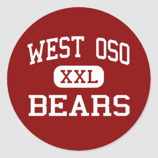 Oso del oeste - osos - centro - Corpus Christi Tej Etiqueta