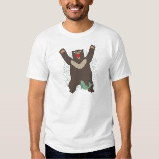 Oso del rugido camiseta