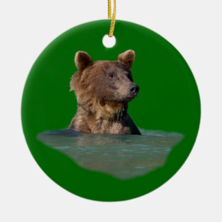 oso del tiempo del baño adornos