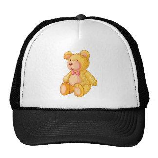 oso gorros bordados
