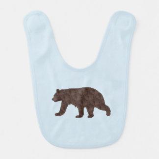 Oso grizzly babero