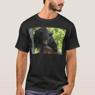 oso negro camiseta