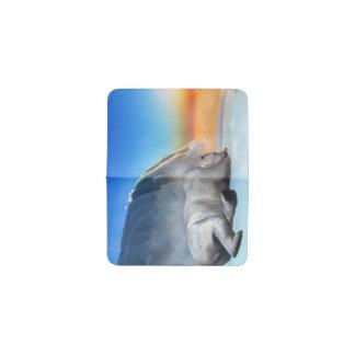 Oso polar - 3D rinden Tarjetero