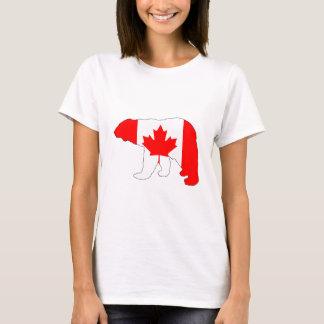 "Oso polar ""Canadá "" Camiseta"