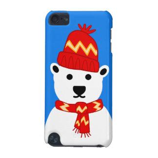 Oso polar del invierno - caso del tacto de iPod Funda Para iPod Touch 5G