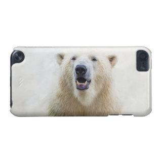 Oso polar del parque zoológico lindo carcasa para iPod touch 5G