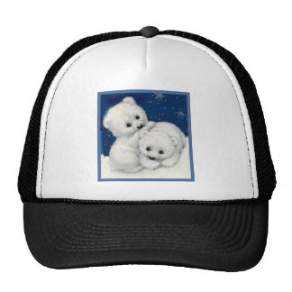 Oso polar lindo Cubs Gorro De Camionero