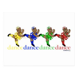 Osos de baile postal