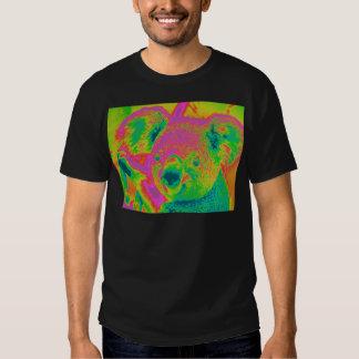 osos de koala fluorescentes camisas