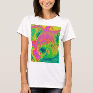osos de koala fluorescentes camiseta