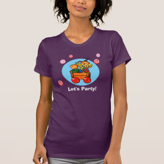 Osos de peluche en el coche del Soapbox -   Camisetas